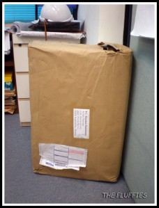 Parcel received! Thanks to our friend!